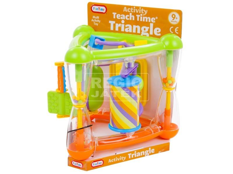 Fun Time Háromszögű activity csörgő bébijáték