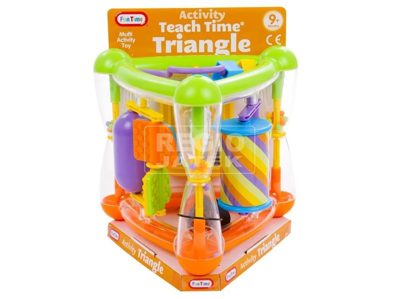 kép nagyítása Fun Time Háromszögű activity csörgő bébijáték