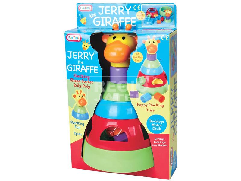 Fun Time Jerry zsiráf activity bébijáték