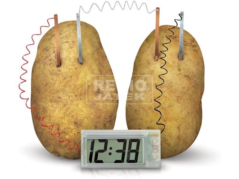 kép nagyítása 4M krumpli óra készlet
