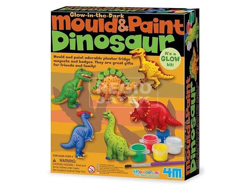 4M dinoszaurusz gipszkiöntő készlet