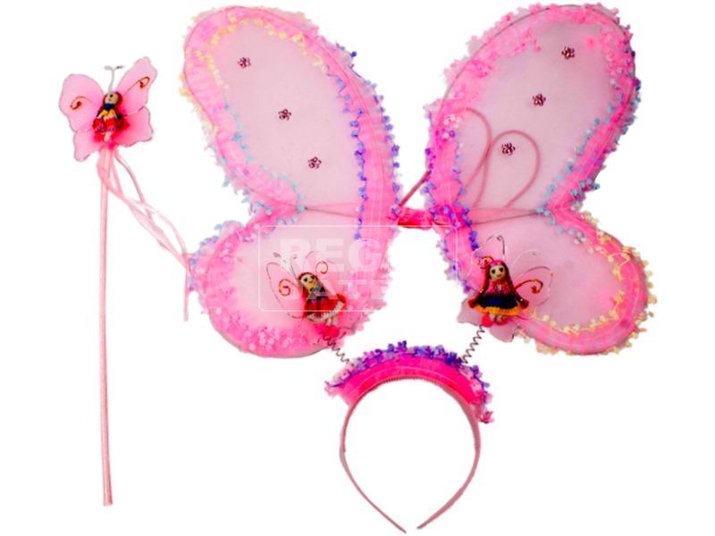 Pillangó szárny kiegészítőkkel - többféle