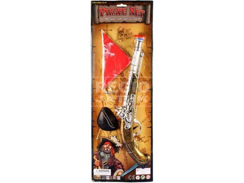 kép nagyítása Kalóz pisztoly kiegészítőkkel