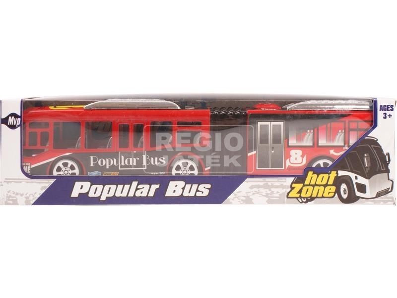 Lendkerekes csuklós busz - többféle