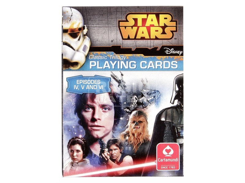 Star Wars IV-IV. epizód Top Trums gyűjthető kártya
