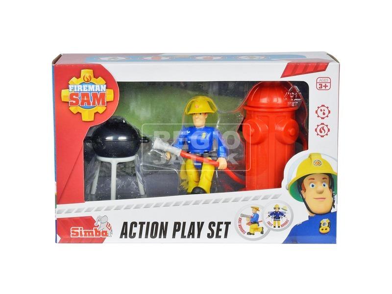 Sam a tűzoltó kerti grill játékkészlet