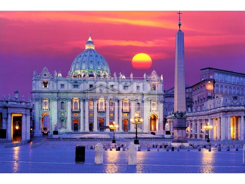Puzzle 3000 db panoráma - Szent Péter bazilika