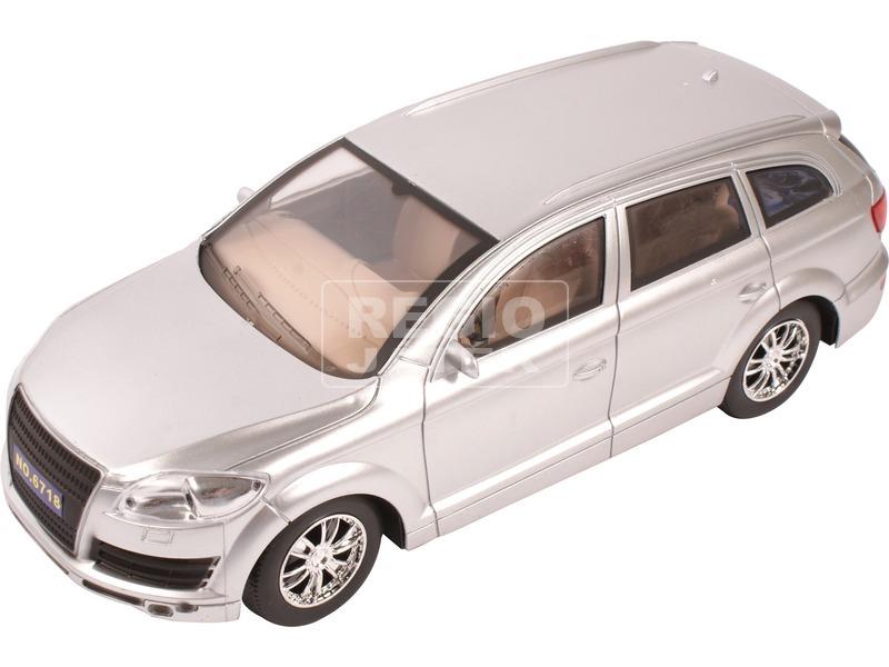 kép nagyítása Audi Q7 lendkerekes műanyag autómodell - ezüst