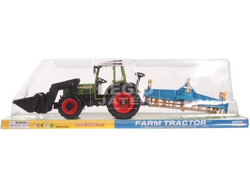 Lendkerekes traktor ekével - 55 cm