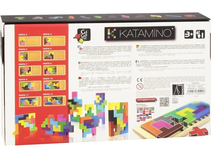 kép nagyítása Katamino társasjáték