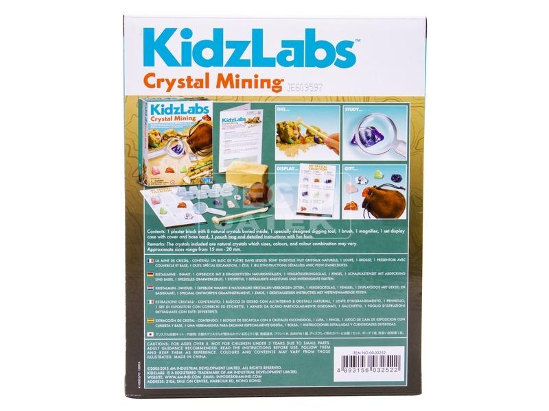 kép nagyítása 4M kristály bányász készlet