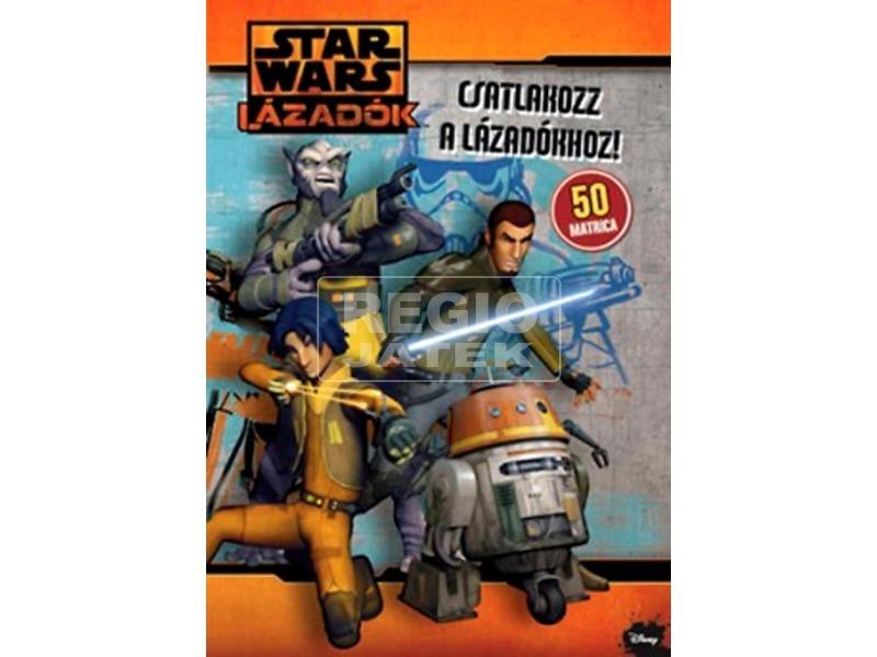 Star Wars Lázadók matricás foglalkoztató