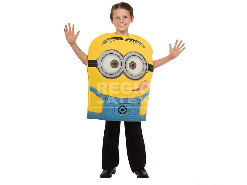 Minion Dave pufi jelmez - 116 cm-es méret