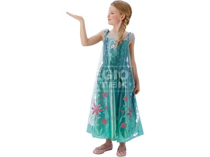 Jégvarázs Elsa hercegnő jelmez - 128-as méret