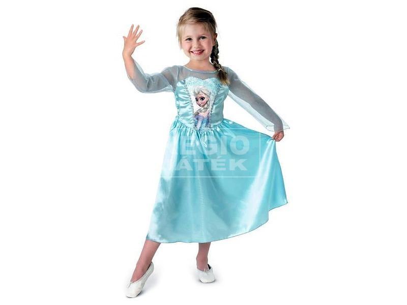 Jégvarázs Elsa hercegnő klasszikus jelmez - 128 cm