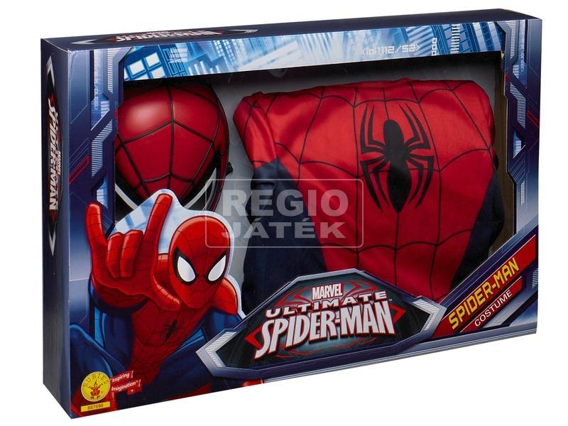 Pókember: Ultimate Spiderman jelmez dobozban - 128-as méret