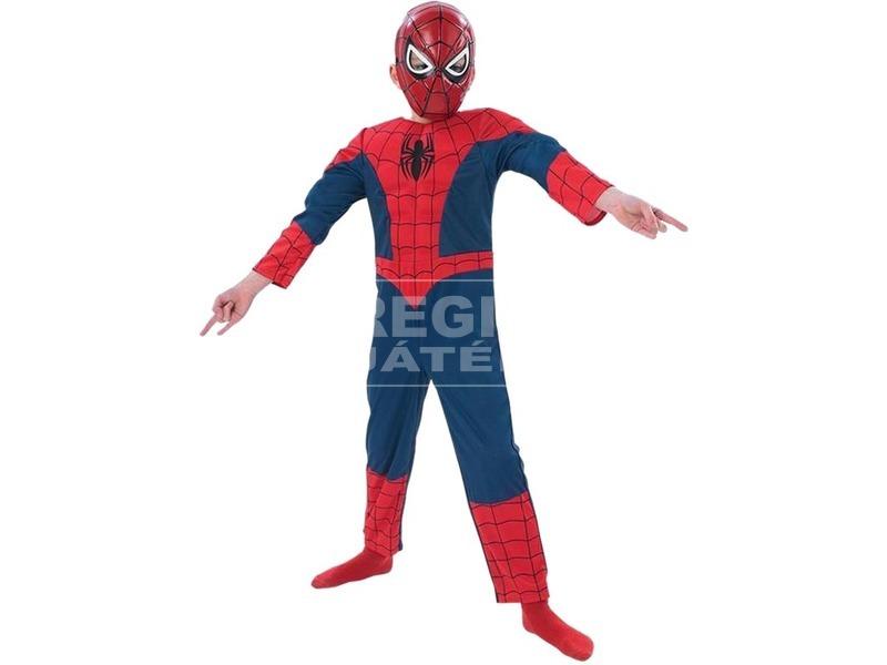 Pókember: Ultimate Spiderman deluxe jelmez - 116-os méret