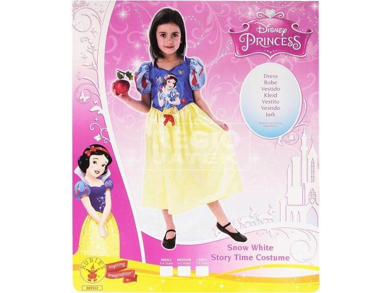 kép nagyítása Disney hercegnők Hófehérke jelmez - 116-os méret
