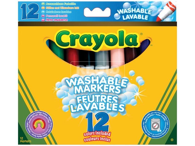 Crayola: 12 darabos vastag filctoll