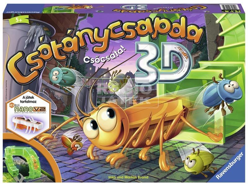 kép nagyítása Csótánycsapda 3D társasjáték