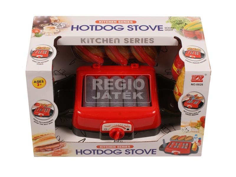 Hotdog sütő készlet