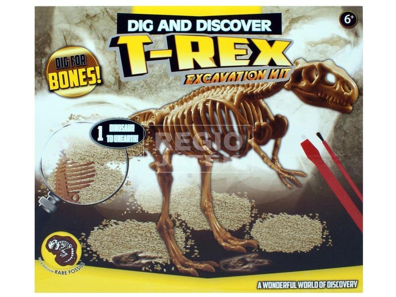 Régész játék - T-Rex csontváz