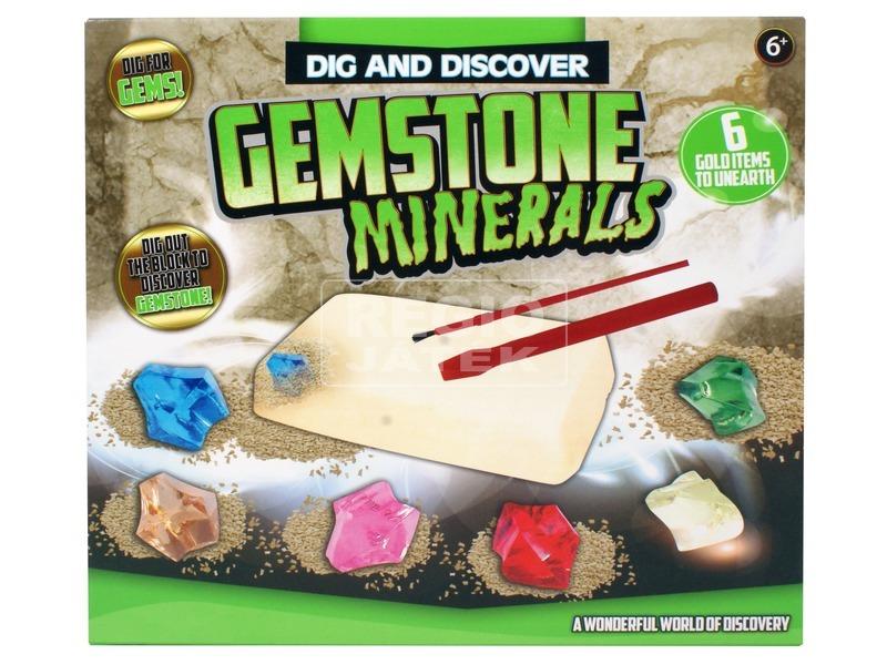 Régész játék - drágakövek