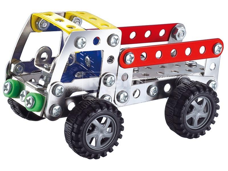 kép nagyítása Teherautó 112 darabos fém építőjáték