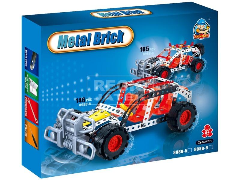 Terepjáró autó 165 darabos fém építőjáték
