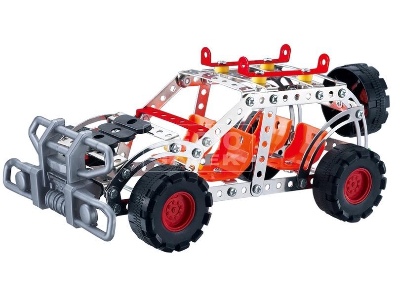 kép nagyítása Terepjáró autó 165 darabos fém építőjáték