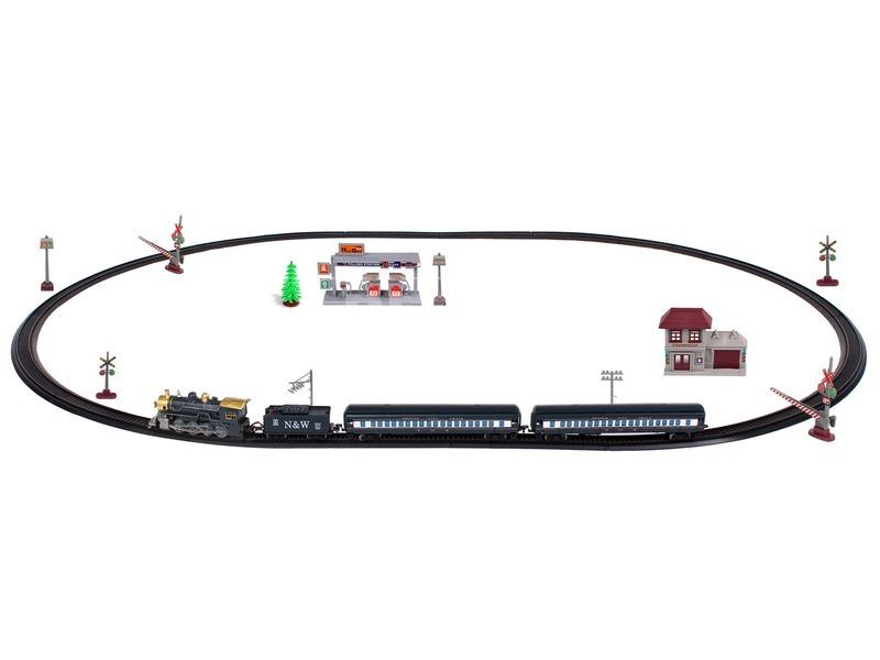 kép nagyítása Train Orbit modellvasút készlet gőzmozdonnyal
