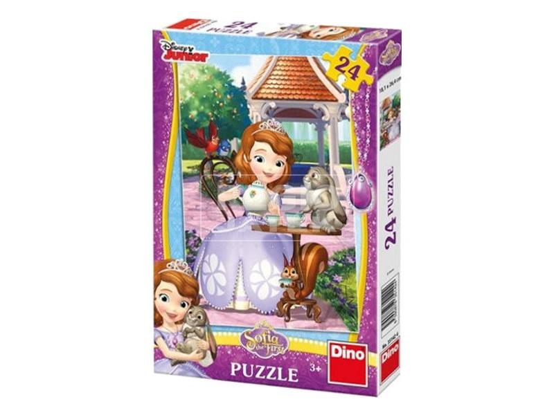 Szófia hercegnő és kisállatai 24 darabos puzzle