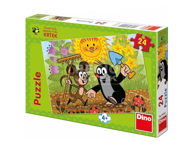 Kisvakond és a kisegér 24 darabos puzzle