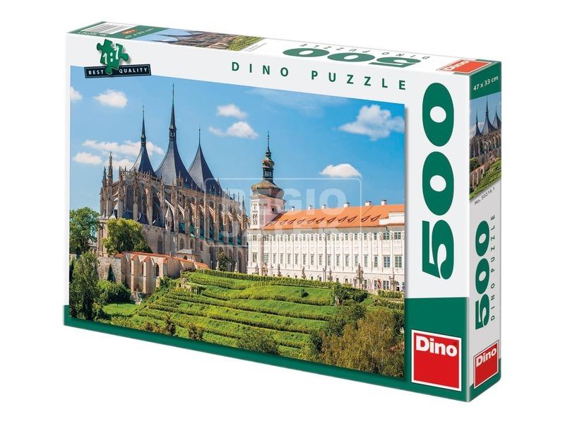Szent Borbála katedrális 500 darabos puzzle