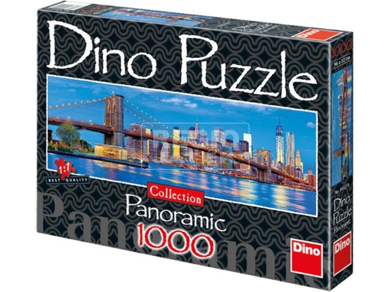 Brooklyn-híd 1000 darabos panoráma puzzle