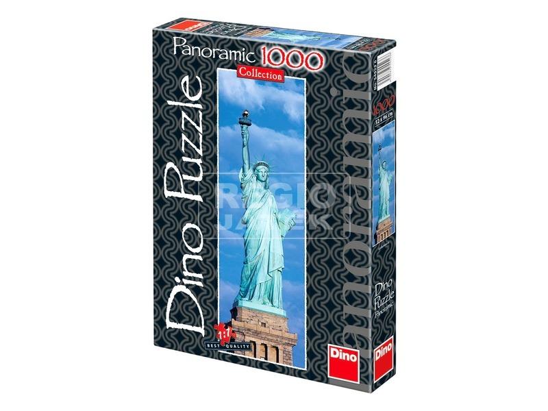 Amerikai szabadság szobor 1000 darabos panoráma puzzle