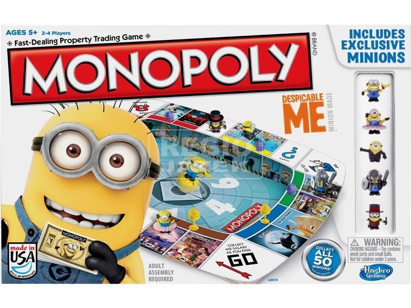 Monopoly Minions társasjáték