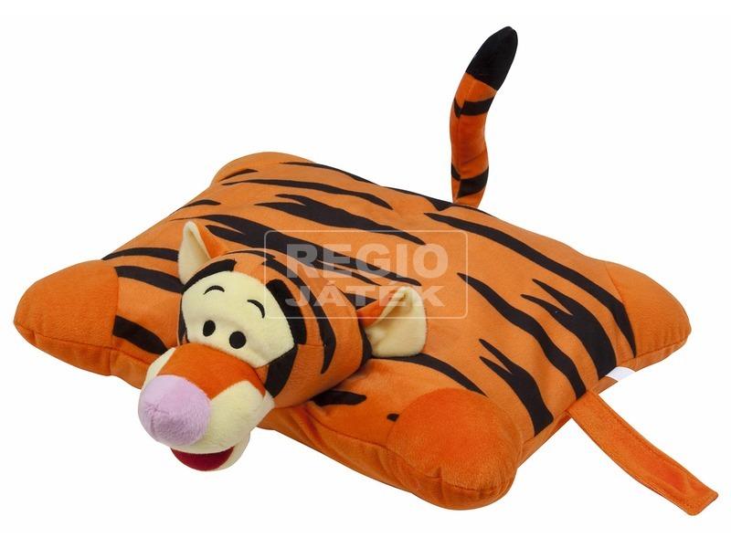 Tigris 2 az 1-ben plüss párna - 42 x 36 cm