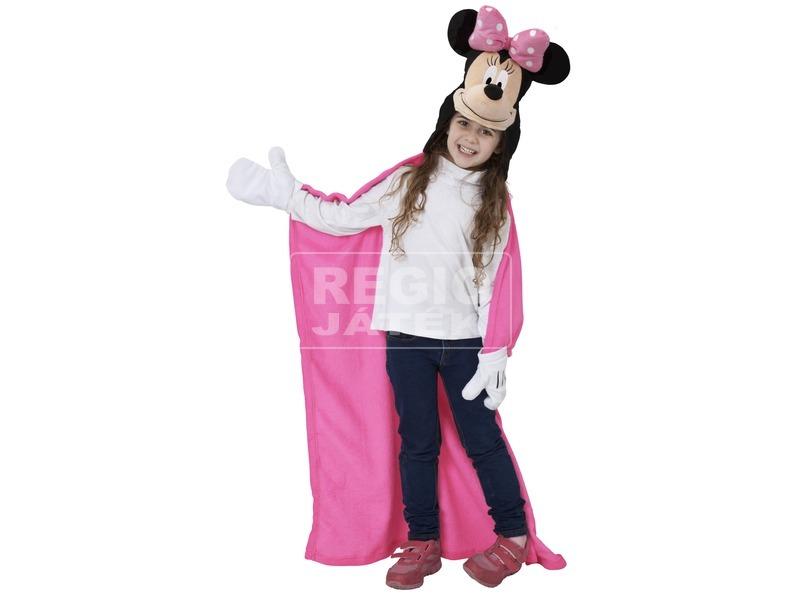 kép nagyítása Minnie egér plüss bebújós takaró - 100 x 100 cm