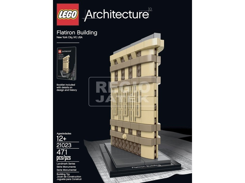 LEGO Architecture New York Flatiron Building 21023