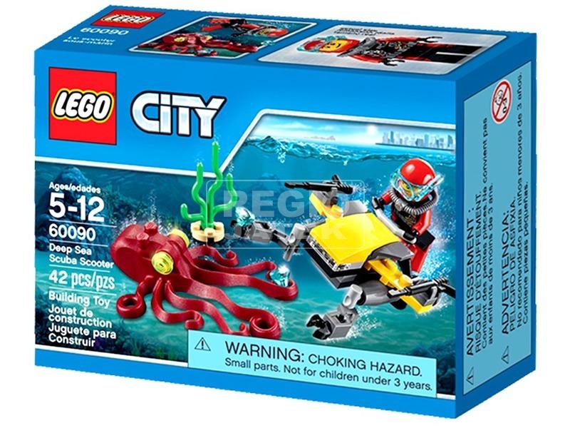 LEGO City Deep Sea Explorers Mélytengeri búvárrobogó 60090