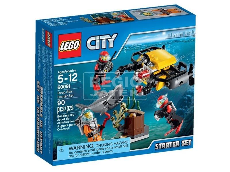 LEGO City Mélytengeri kezdőkészlet 60091