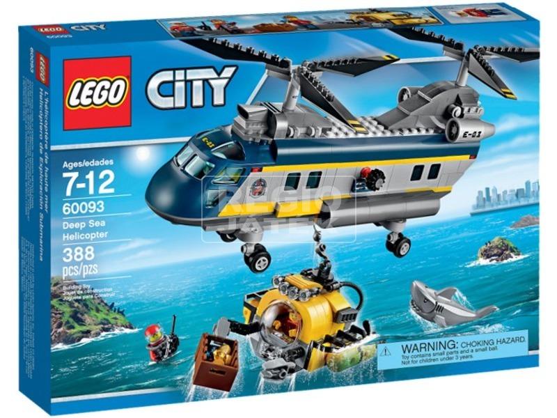 LEGO City Mélytengeri helikopter 60093