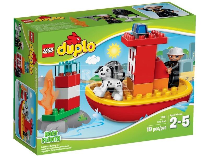 LEGO DUPLO Tűzoltóhajó 10591