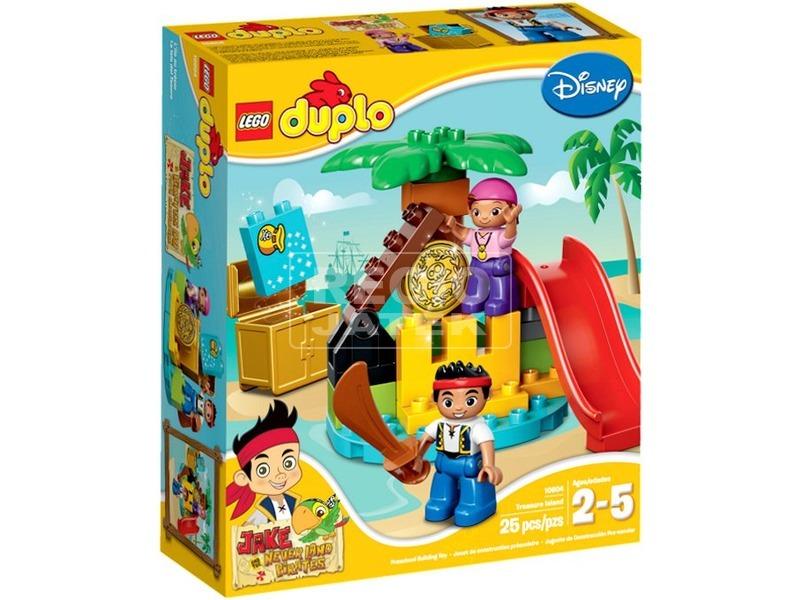 LEGO Duplo Jake és Never Land kalózainak kincses szigete 10604
