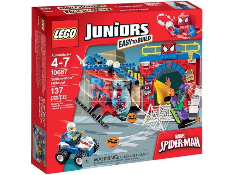 LEGO Juniors Spider-Man™ búvóhelye 10687