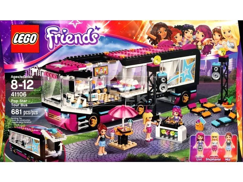 LEGO Friends Popsztár utazóbusz 41106