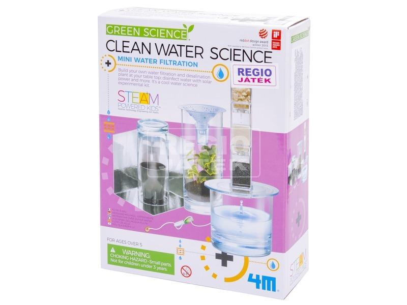4M víztisztító tudományos készlet