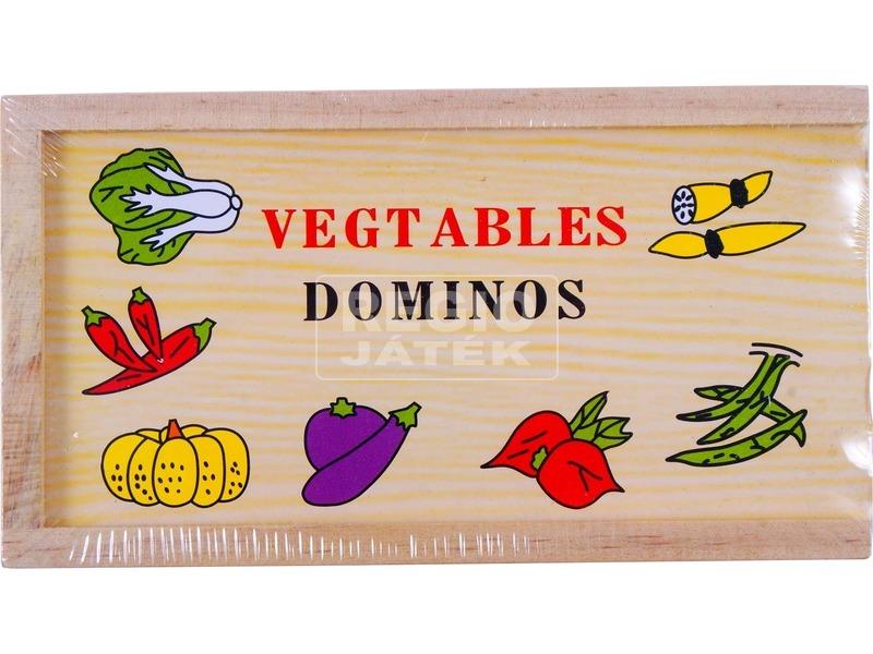 Fa zöldség dominó