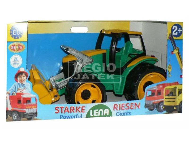kép nagyítása Óriás markolós traktor utánfutóval - 62 cm